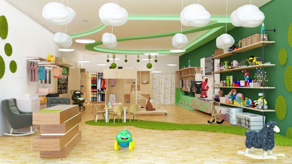 Colorful Retail Interior Design