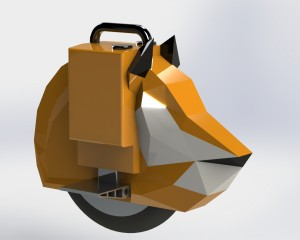 Foxy Electric Unicycle Design Competition