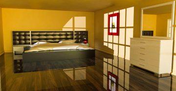 3d rendering interior design bedroom