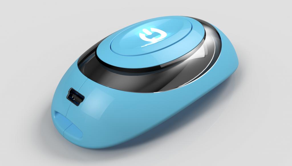GPS pet locator cad design