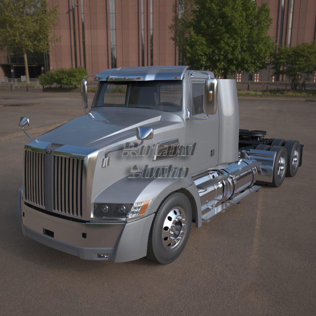 truck cab 3d modeling cad design