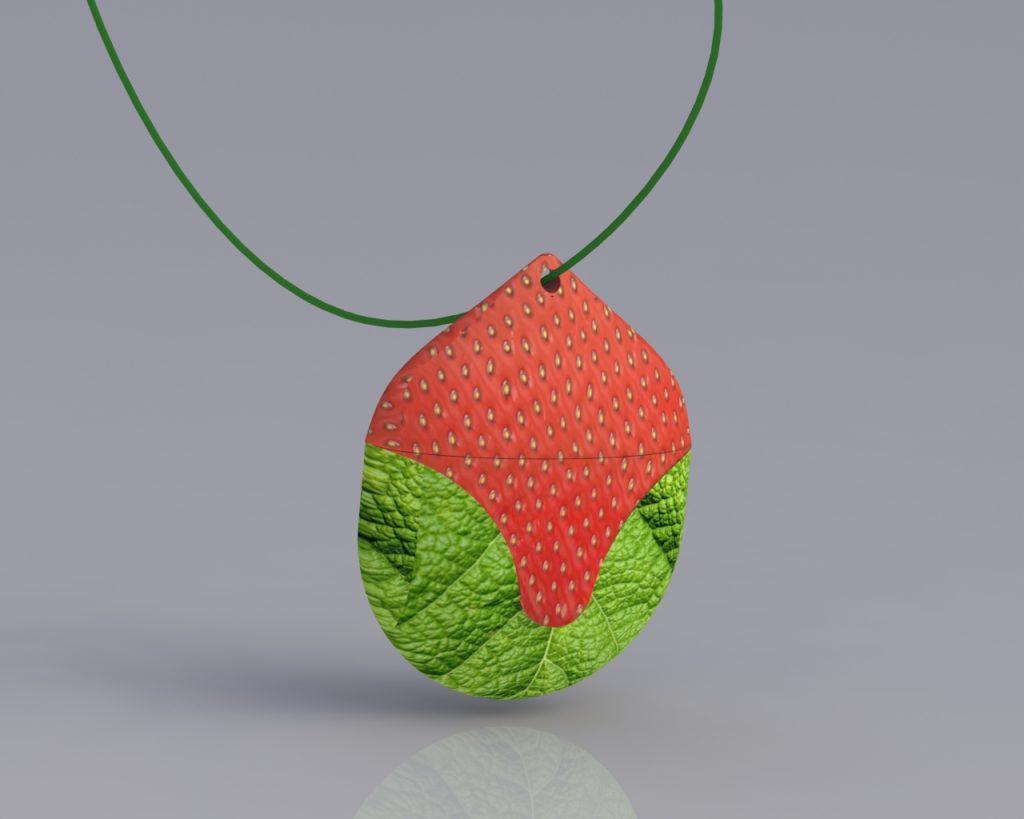 3D modeling pendant