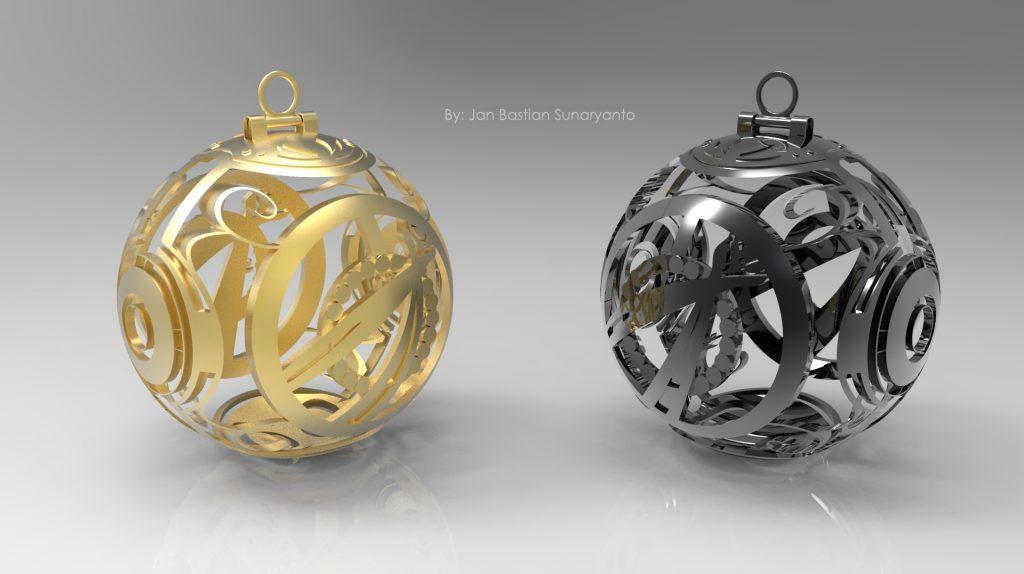 Black and gold pendants jewerlry design