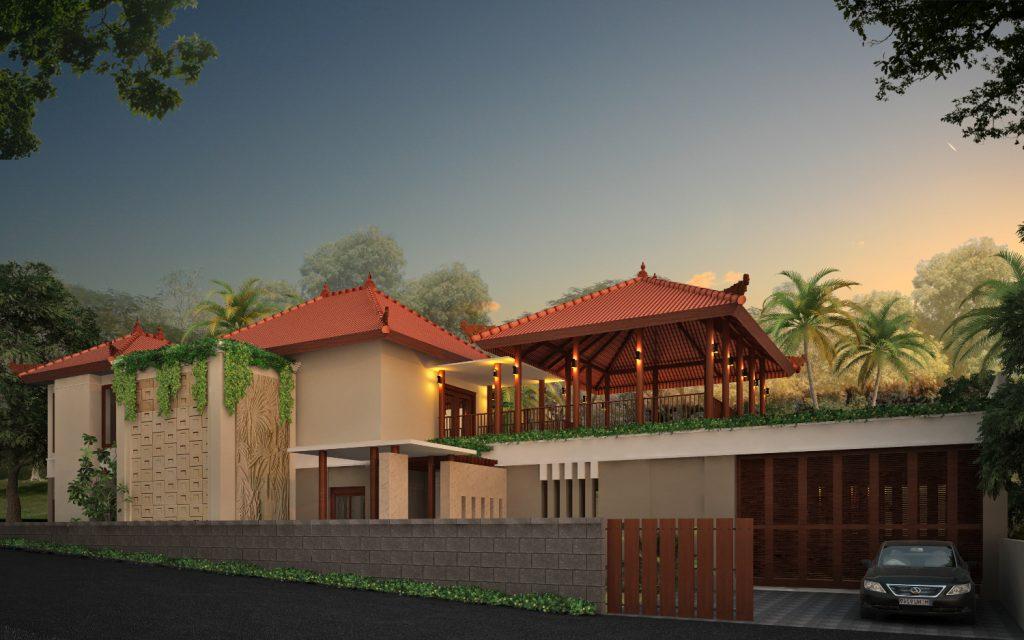 House Architectural Design 3d modeling