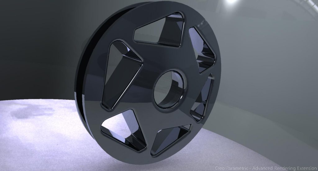 alloy wheel automotive cad design