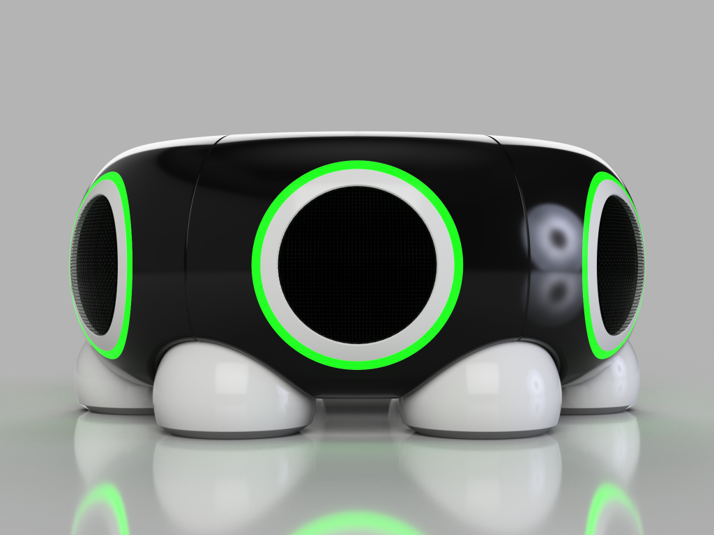 concept design bluetooth speaker product design