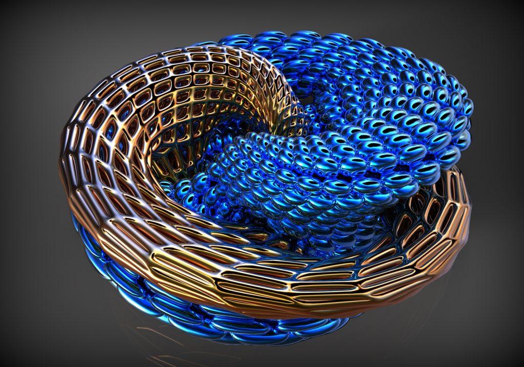 3d mobius design