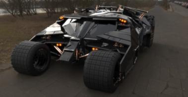 batmobil cad design