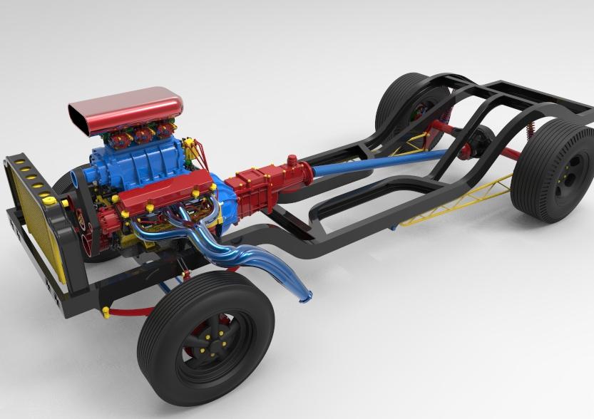 car design 3d CAD