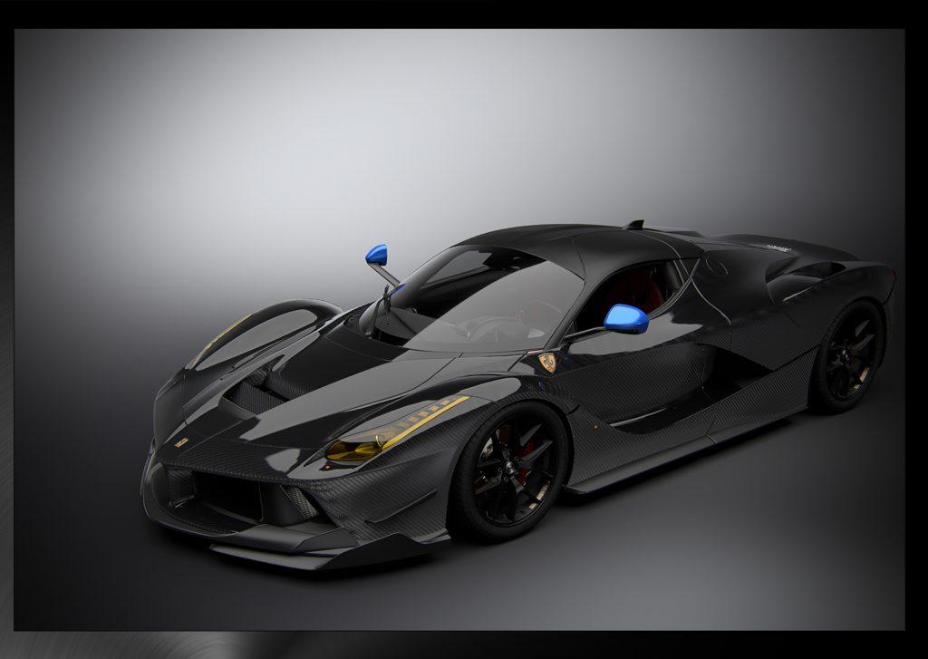 ferrari 3d modeling design