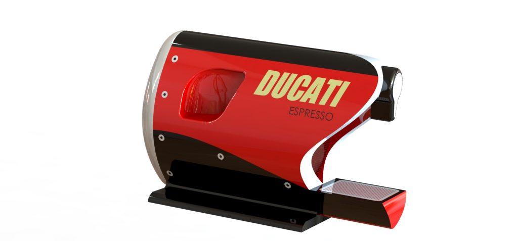 ducati espresso machine product design