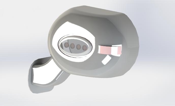 LED side mirror design challenge
