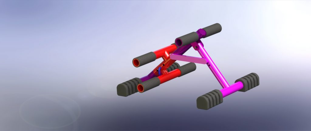 abs workout equipment design