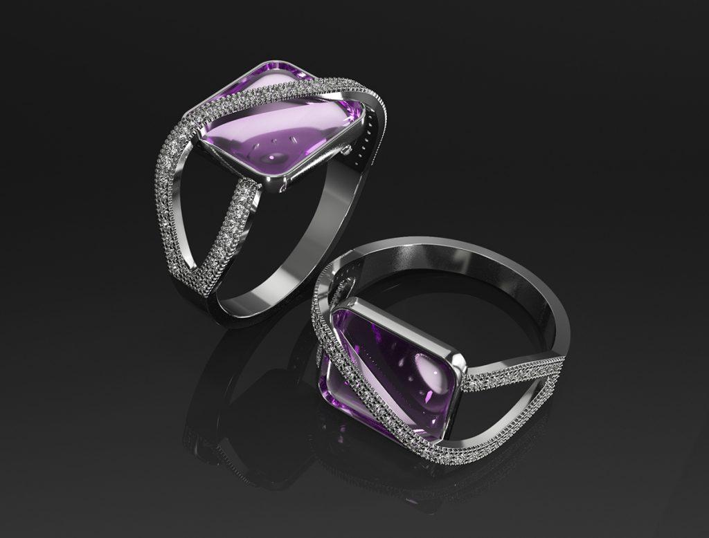 custom designer jewelry CAD design