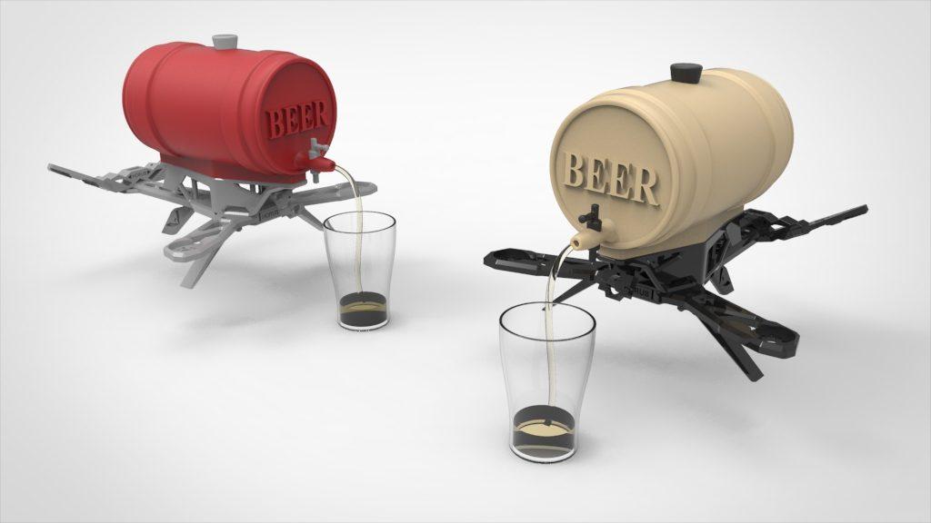 drone mini keg