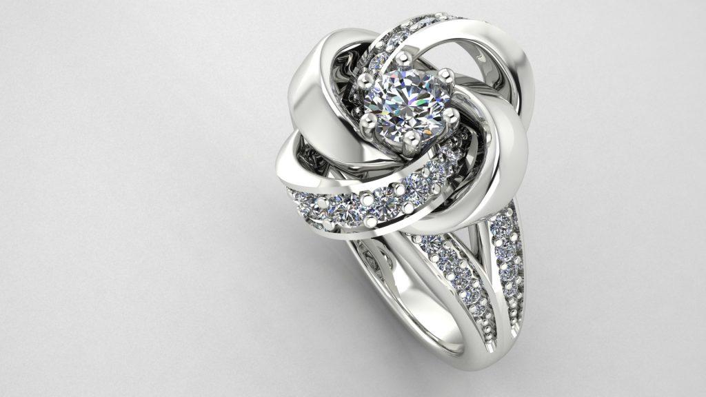 rose ring designer jewelery