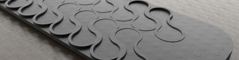 silicone strip cad design