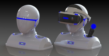 virtual reality video game device