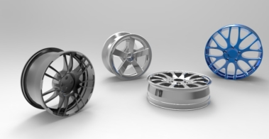 wheel-types-3d-rendering
