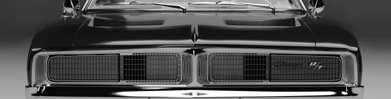 car rendering