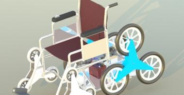 stair climbing wheelchair design