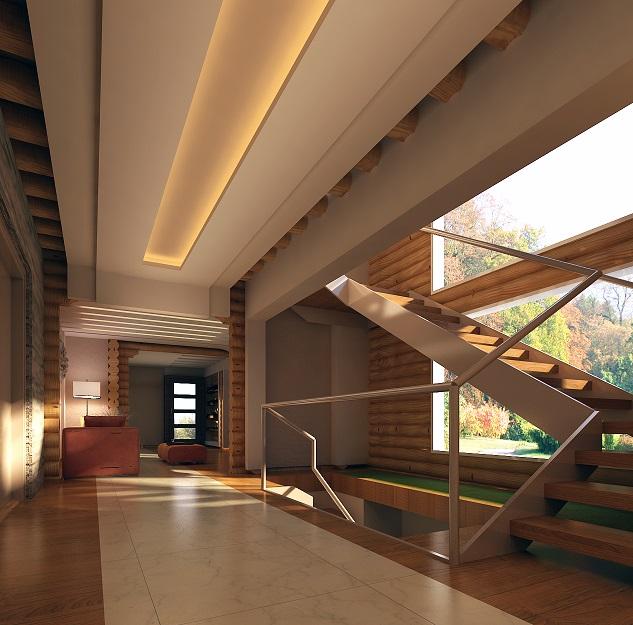 Natural Elements Log House