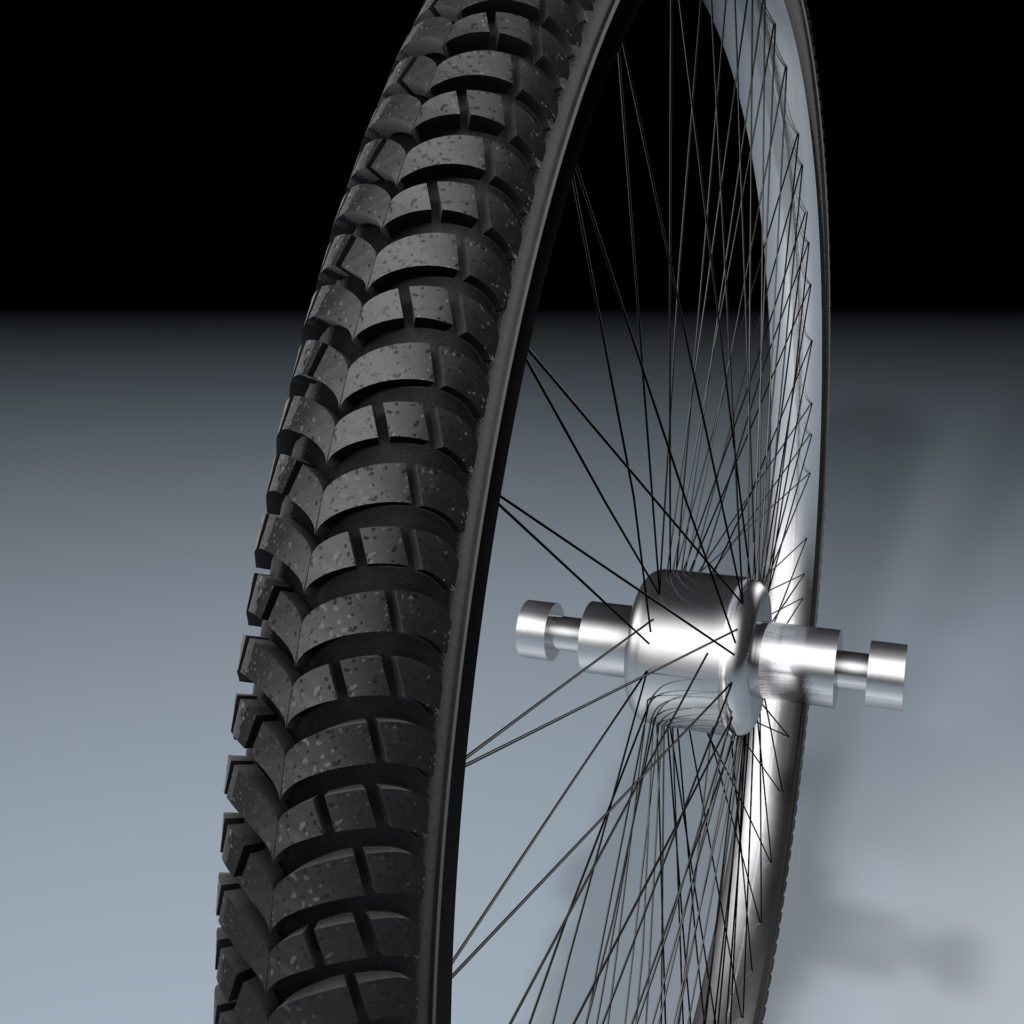 New tire design and 3D modeling