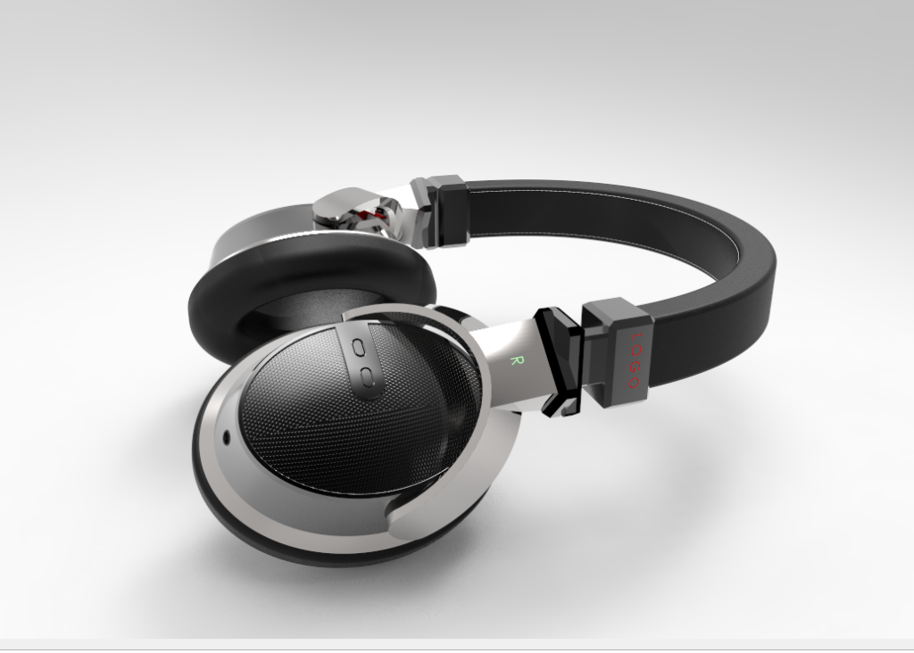 Premium headset redesign by Jacob Jose on Cad Crowd