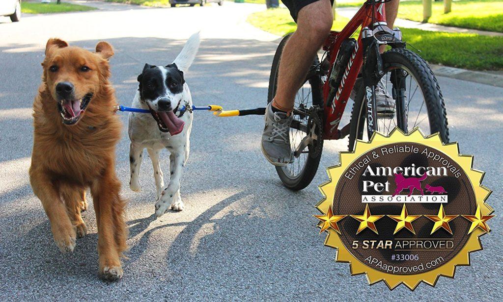 1-Running-Dog Bike Tow Leash