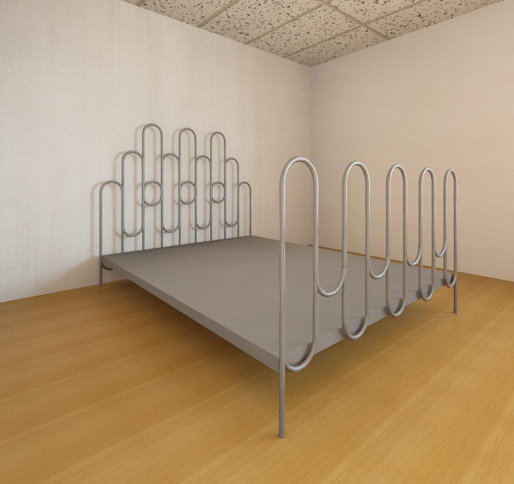wire bed frames design