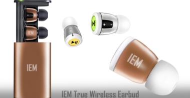 wireless earbud gold