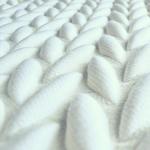 3D woven textile design by Aleksandra Gaca