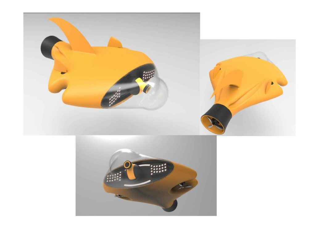 #7 Underwater drone by REDA