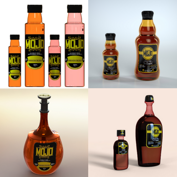 More consumer product design for bottles