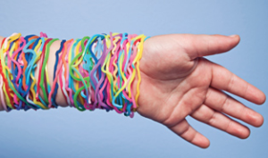 Silly Bandz by Robert J. Croak