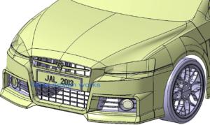 Surface models design services