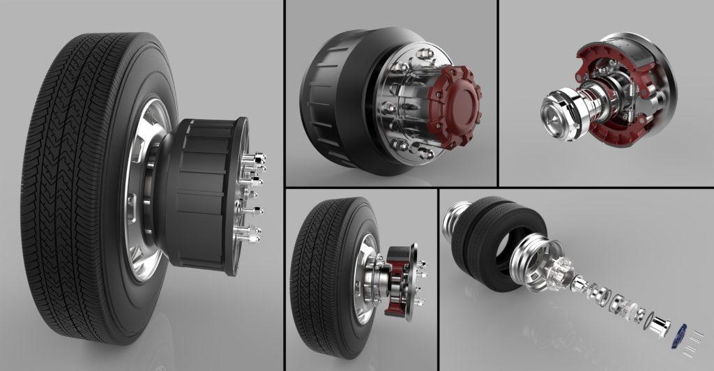 3D visualization for automotive parts