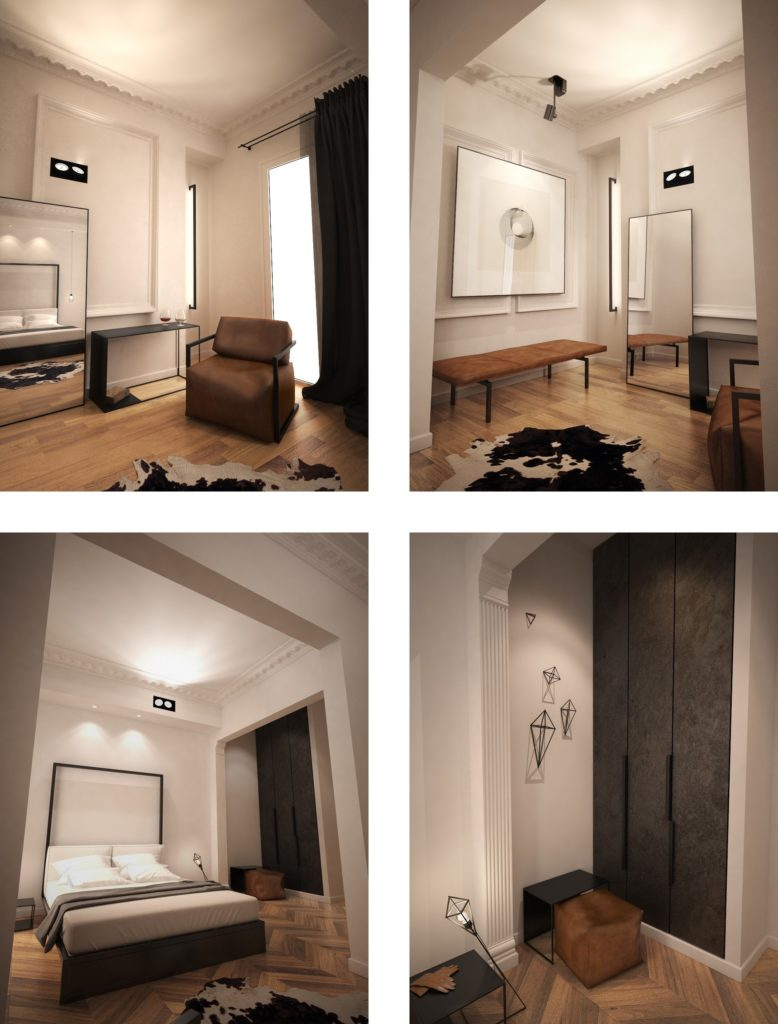 3D visualization for hotel renovation
