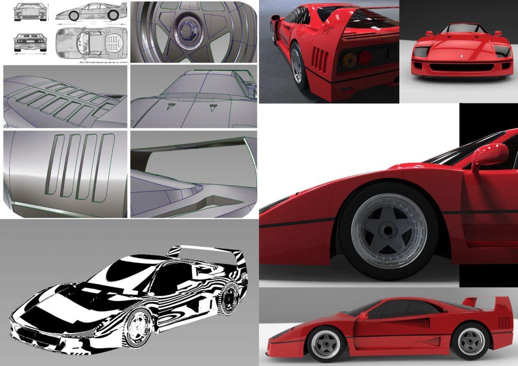 3d visualization for automotive design