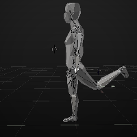 Inverse Kinematics 3D rigging