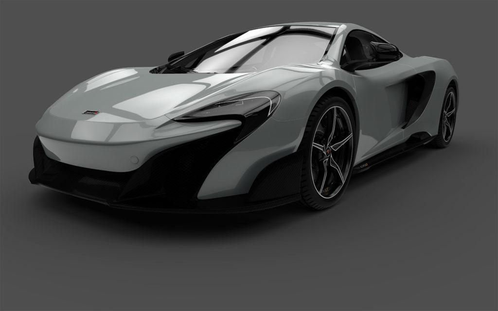 McLaren Prototype Car - freelance 3D rendering services