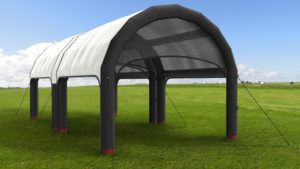 tent design with 3D visualization