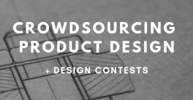 Crowdsourcing new product design and development