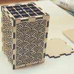 Laser cut packaging design