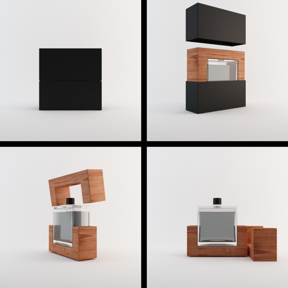 3D perfume animation by Vladu11