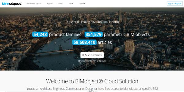 BIMobject – Free 3D assets