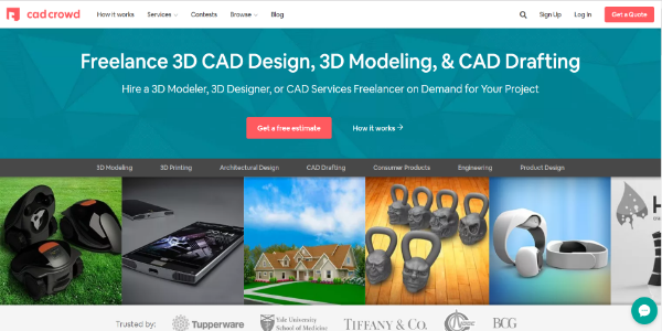 Cad Crowd – Free 3D assets