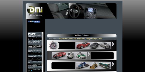 DMI Car 3D Models – Free 3D assets