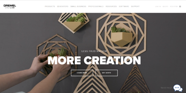 Dremel 3D Idea Builder – Free 3D assets
