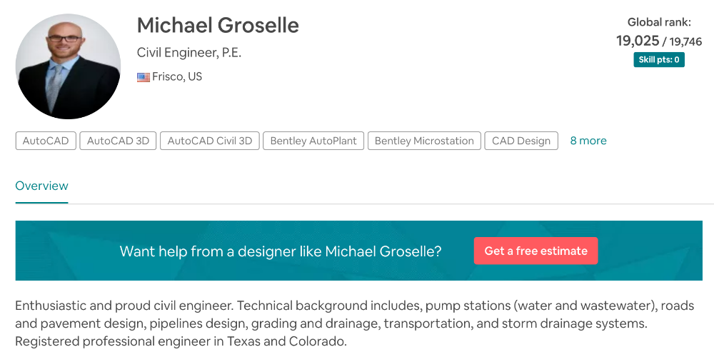 Engineering by Michael Groselle from Frisco, Texas